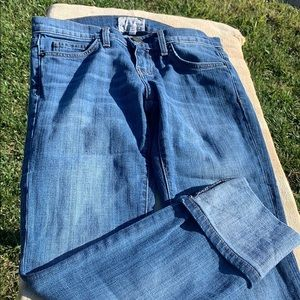Current elliott beanstalk rolled jeans
